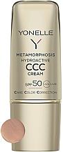 Düfte, Parfümerie und Kosmetik Mattierende Gesichtscreme SPF50 - Yonelle Metamorphosis Hydroactive CCC Cream SPF50