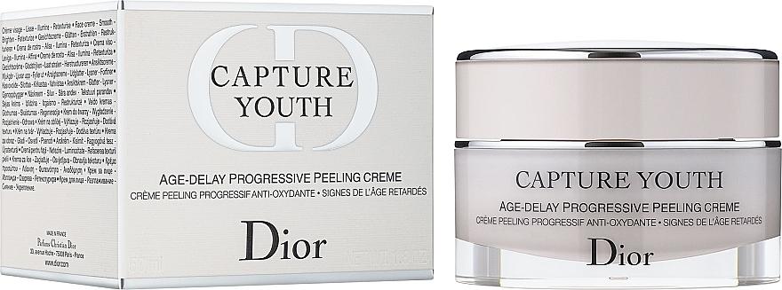 Progressive Peeling-Creme - Christian Dior Capture Youth Age-Delay Progressive Peeling Creme