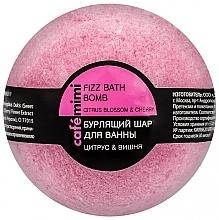 Düfte, Parfümerie und Kosmetik Badebombe Zitrusblüte & Kirsche - Cafe Mimi Bubble Ball Bath