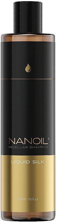 Mizellenshampoo mit flüssiger Seide - Nanoil Liquid Silk Micellar Shampoo