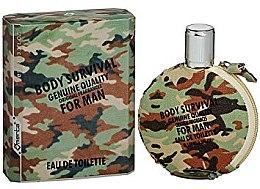 Düfte, Parfümerie und Kosmetik Omerta Body Survival For Man - Eau de Toilette