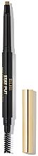 Düfte, Parfümerie und Kosmetik Augenbrauenstift mit Bürste - Milani Stay Put Brow Sculpting Mechanical Pencil