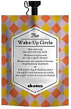 Düfte, Parfümerie und Kosmetik Belebende und feuchtigkeitsspendende Anti-Stress Haar- und Kopfhautmaske mit lila Tonerde und Rosenwurz-Extrakt - Davines Wake-Up Circle Hair Mask