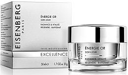Düfte, Parfümerie und Kosmetik Straffende Gesichtscreme mit aufhellender Wirkung - Jose Eisenberg Energie Or Soin Jour