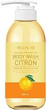 Düfte, Parfümerie und Kosmetik Aufweichendes Duschgel mit Zitrusextrakt - Welcos Around Me Natural Perfume Vita Body Wash Citron