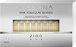 Düfte, Parfümerie und Kosmetik Haarwuchs stimulierende Lotion in Ampullen für Männer 2100 - Labo Crescina Hair Follicular Island 2100 Man