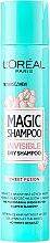 Düfte, Parfümerie und Kosmetik Trockenshampoo Sweet Fusion - L'Oreal Paris Magic Shampoo Invisible Dry Shampoo Sweet Fusion
