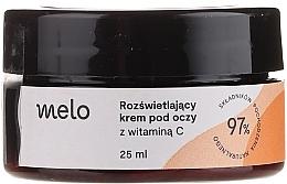 Düfte, Parfümerie und Kosmetik Aufhellende Augencreme mit Vitamin C - Melo