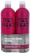 Düfte, Parfümerie und Kosmetik Set Shampoo & Conditioner - Tigi Bed Head Racharge (shm/750ml + cond/750ml)
