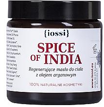 Düfte, Parfümerie und Kosmetik Regenerierende Körperbutter mit indischen Gewürzen und Arganöl - Iossi Regenerating Body Butter