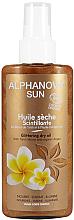 Düfte, Parfümerie und Kosmetik Bräunungsöl für den Körper mit Bronze-Effekt - Alphanova Sun Oil Dry Sparkling
