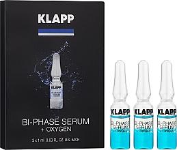 Düfte, Parfümerie und Kosmetik Zweiphasiges Gesichtsserum mit Sauerstoff - Klapp Bi-Phase Serum Oxygen