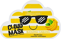 "Düfte, Parfümerie und Kosmetik Sauerstoff-Gesichtsmaske ""Banana Cabana"" - Bielenda Cloud Mask Banana Cabana"