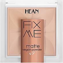 Düfte, Parfümerie und Kosmetik Gesichtspuder - Hean Fix Me Matte Vegan Powder