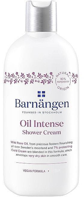 Duschcreme mit Wildrose für sehr trockene Haut - Barnangen Oil Intense Shower Cream