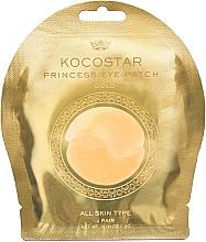 Düfte, Parfümerie und Kosmetik Hydrogel Augenpatches mit 24 Karat Gold - Kocostar Princess Eye Patch Gold