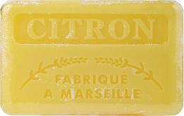 Düfte, Parfümerie und Kosmetik Handgemachte Naturseife mit Zitronenduft und Sheabutter - Foufour Savonnette Marseillaise Citron