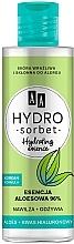 Düfte, Parfümerie und Kosmetik Feuchtigkeitsspendende und erfrischende Gesichtsessenz mit Aloe und Hyaluronsäure für empfindliche und zu Allergien neigende Haut - AA Hydro Sorbet Korean Formula Hydrating Essence