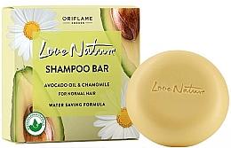 Düfte, Parfümerie und Kosmetik Festes Shampoo für normales Haar mit Avocadoöl und Kamille - Oriflame Love Nature Shampoo Bar Avocado Oil & Chamomile For Normal Hair