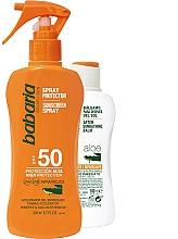 Düfte, Parfümerie und Kosmetik Sonnenschutzpflegeset - Babaria Sun (Sonnenschutzspray für den Körper 200ml + After Sun Körperbalsam 100ml)