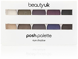 Düfte, Parfümerie und Kosmetik Lidschattenpalette - Beauty UK Posh Eye Shadow Palette