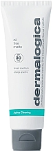 Düfte, Parfümerie und Kosmetik Mattierende schützende und feuchtigkeitsspendende Tagescreme für fettige Gesichtshaut SPF 30 - Dermalogica Active Clearing Oil Free Matte SPF 30