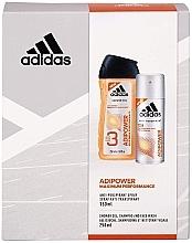 Düfte, Parfümerie und Kosmetik Körperpflegeset Adidas Adipower Women - (Duschgel 250ml + Deospray 150ml)