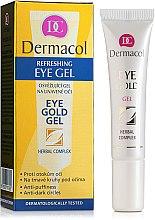 Düfte, Parfümerie und Kosmetik Augengel gegen Schwellungen und dunkle Augenringe - Dermacol Eye Gold Gel
