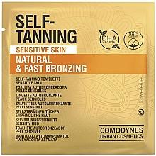 Düfte, Parfümerie und Kosmetik Selbstbräunungs-Tücher für empfindliche Haut - Comodynes Self-Tanning Sensitive Skin
