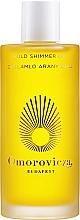 Düfte, Parfümerie und Kosmetik Schimmerndes Körperöl - Omorovicza Gold Shimmer Oil