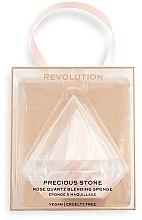 Düfte, Parfümerie und Kosmetik Make-up Schwamm - Makeup Revolution Precious Stone Diamond Blender&Case