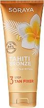 Düfte, Parfümerie und Kosmetik Bräunungslotion für den Körper mit Monoi-Öl, Kokosnuss und Mai - Soraya Tahiti Bronze 3 Step Tan Fixer