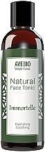 Düfte, Parfümerie und Kosmetik Feuchtigkeitsspendendes Gesichtstonikum - Avebio Natural Face Tonic Immortelle