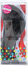 Düfte, Parfümerie und Kosmetik Entwirrbürste schwarz - Rolling Hills Detangling Brush Travel Size Sky Black