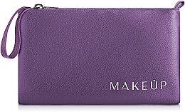 Düfte, Parfümerie und Kosmetik Kosmetiktasche violett 21x12 cm - MakeUp