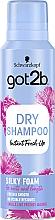 Düfte, Parfümerie und Kosmetik Glättendes Trockenshampoo - Schwarzkopf Got2b Fresh it Up! Dry Shampoo Silky Foam