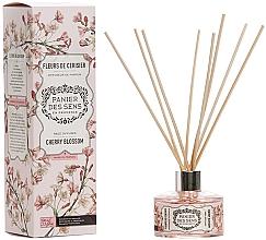 Düfte, Parfümerie und Kosmetik Aroma-Diffusor mit Duftholzstäbchen Kirschblüte - Panier Des Sens Cherry Blossom Reed Diffuser