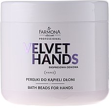 Düfte, Parfümerie und Kosmetik Badeperlen für die Handpflege mit Lilien- und Flieder-Duft - Farmona Express Repair Bath Beads