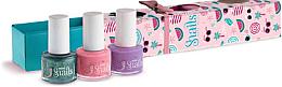 Düfte, Parfümerie und Kosmetik Kinder-Nagellack-Set 3x7ml - Snails Mini Bebe Berry-Licious