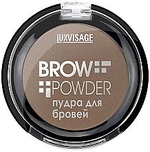 Düfte, Parfümerie und Kosmetik Augenbrauenpuder - Luxvisage Brow Powder