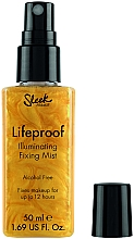 Düfte, Parfümerie und Kosmetik Illuminierender Make-up Fixiernebel - Sleek MakeUP Lifeproof Illuminating Fixing Mist