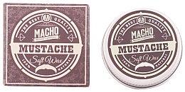 Düfte, Parfümerie und Kosmetik Schnurrbartwachs - Macho Beard Company Soft Natural Mustache Wax