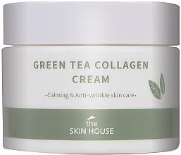 Düfte, Parfümerie und Kosmetik Beruhigende Anti-Falten Gesichtscreme mit Kollagen und Grüntee-Extrakt - The Skin House Green Tea Collagen Cream