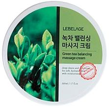 Düfte, Parfümerie und Kosmetik Balancierende Massagecreme für das Gesicht mit grünem Tee - Lebelage Green Tea Balancing Massage Cream