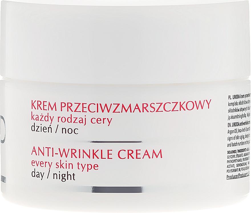 Anti-Falten Gesichtscreme für Tag und Nacht - Uroda Anti-Wrinkles Face Cream For All Skin Day Night