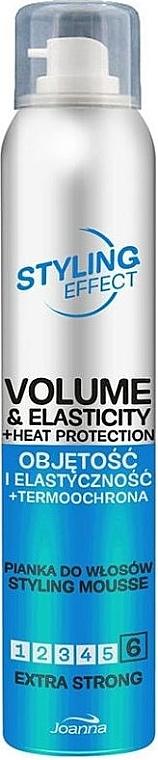 Haarmousse für Volumen und Elastizität Extra starker Halt - Joanna Styling Effect Styling Mousse Extra Strong