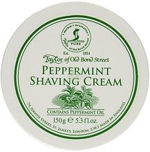 Düfte, Parfümerie und Kosmetik Rasiercreme mit Pfefferminzduft - Taylor of Old Bond Street Peppermint Shaving Cream