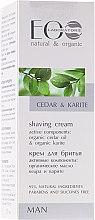 Düfte, Parfümerie und Kosmetik Rasiercreme - ECO Laboratorie Man's Shaving Cream Cedar & Karite