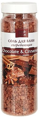 Erwärmendes Badesalz mit Kakaobutter und Zimtöl - Fresh Juice Chocolate & Cinnamon