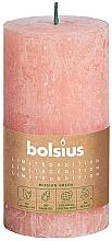Düfte, Parfümerie und Kosmetik Stumpenkerze rosa 130x68 mm - Bolsius
